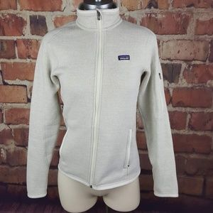 Patagonia Better Sweater Womens Size S Cream